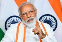 Modi Speaking Long Beard