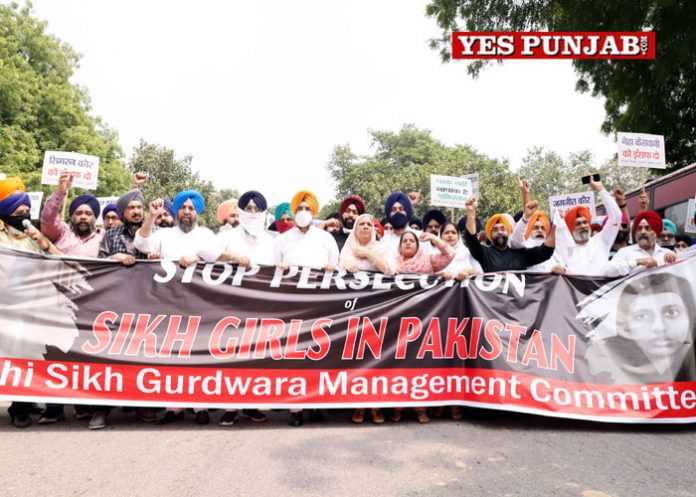 Akali Dal protests Pak High Commission