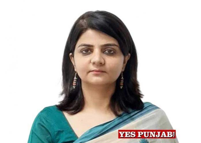 Deepti Uppal IAS Punjab