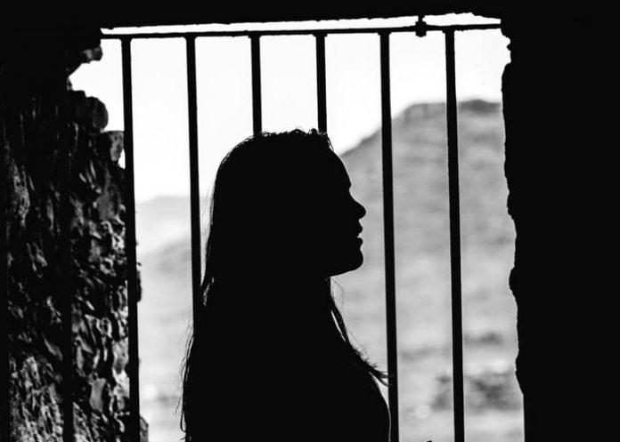 Girl Jail Shadow