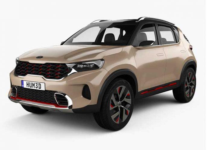 Kia Motors SUV Sonet