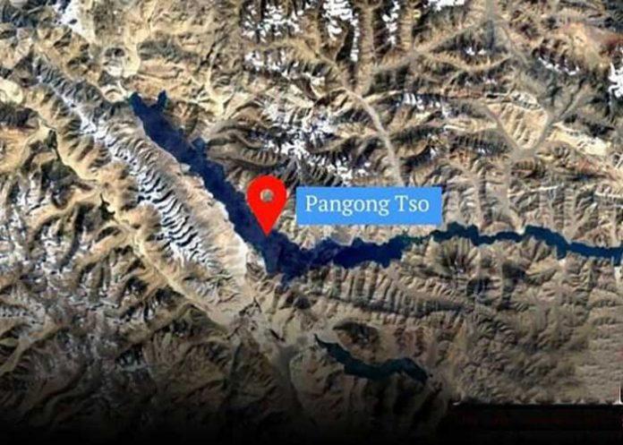 Pangong Tso Satellite