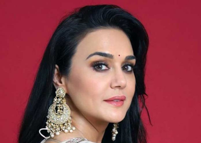 Preity Zinta test
