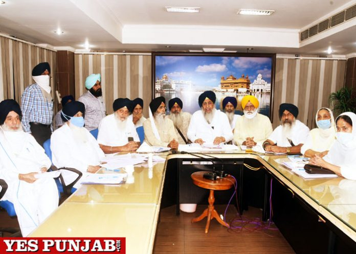 SGPC Committee meeting