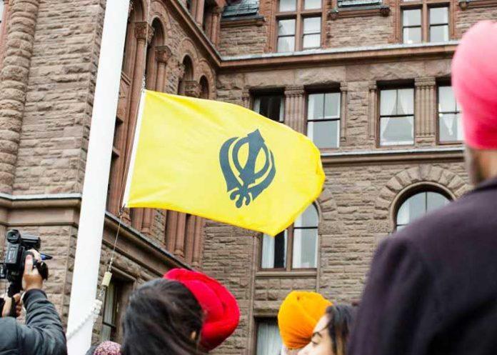 Sikh Khanda Flag