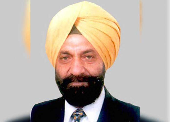 Tarlochan Singh MP Delhi