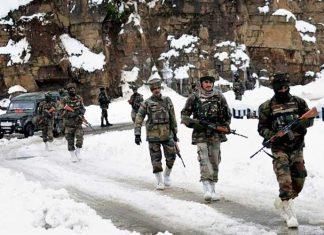 Indian Army Ladakh Snow Winter