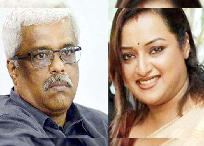 M Sivasankar IAS Swapna Suresh