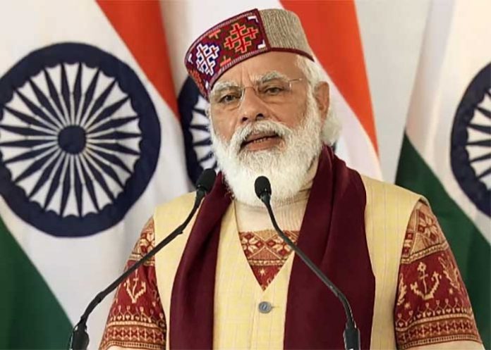 Modi speech during atal tunnel inaugration