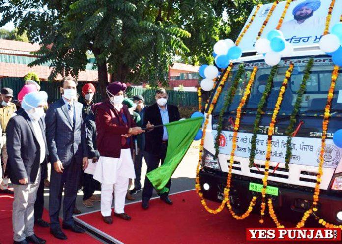 Balbir Sidhu flags off IEC Awarness Vans