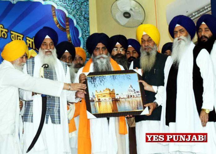 Bhai Pinderpal Singh honoured by SGPC