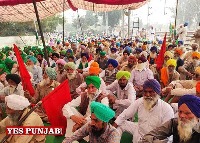 Farmers Protest againt Farm Laws