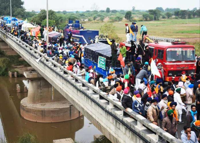 Farmers Protest againt Farm Laws Haryana