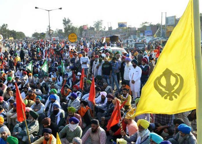 Farmers delhi chalo Protest