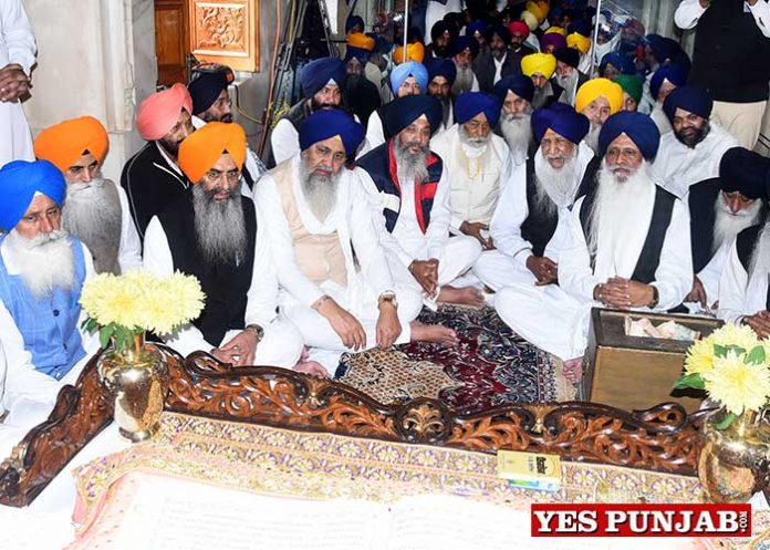 SGPC 100th Foundation Day Akhand Path 1