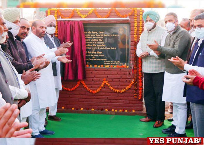 Sarkaria Singla inaugurate irrigation channels Sangrur