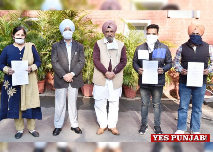 Tript Bajwa hands over Appointment Letters