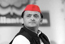 Akhilesh Yadav black and white