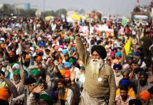 Farmers Protest againt Farm Laws in Delhi