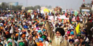 Farmers Protest againt Farm Laws in Delhi