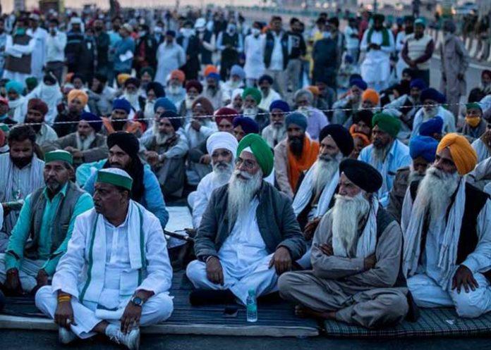 Farmers protest enter 23Day in Delhi