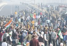 Ghazipur Border Farmers Protest