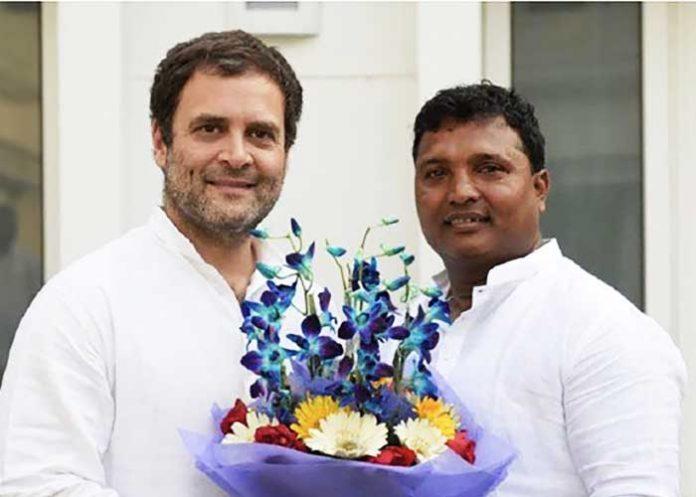 Rahul Gandhi BV Srinivas