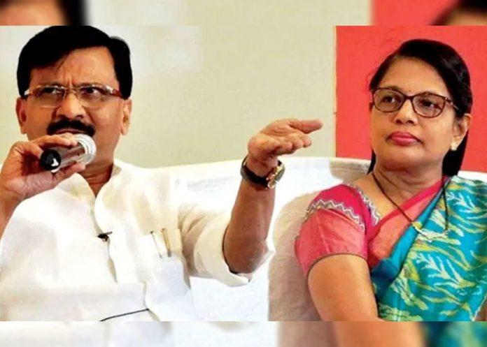 Sanjay Raut Varsha Raut Shiv Sena