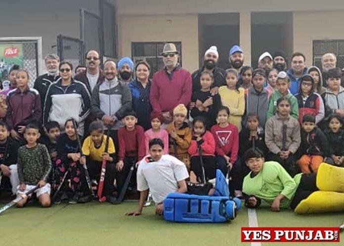 Surinder Singh Sodhi at Surjit Hockey Camp
