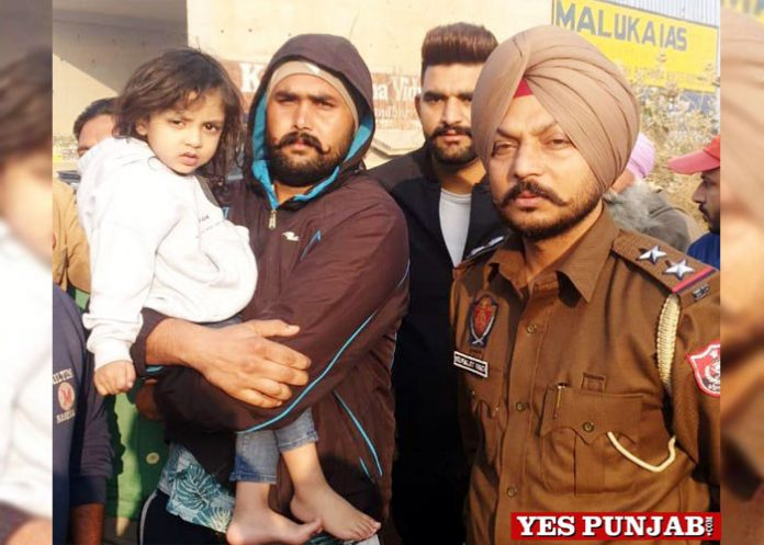 child abducted Ludhiana by Moga Police