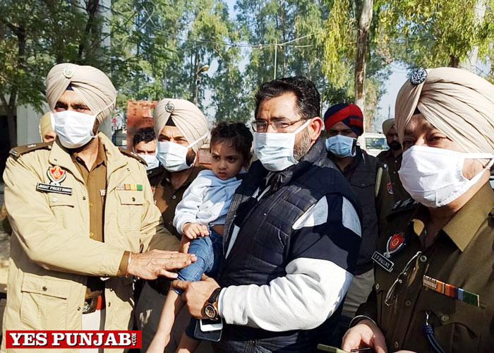 child abducted Moga Police