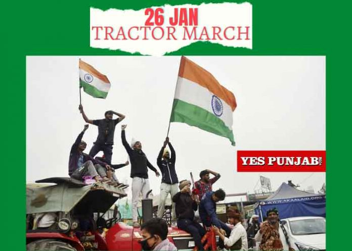 26 January Tractor March