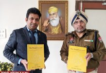 ADGP Rai releases Munish Jindal book