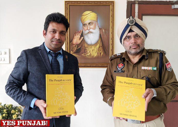 ADGP Rai releases Munish Jindal book