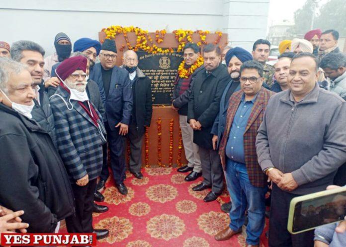 Arora lays foundation stone Link Roads Jalandhar