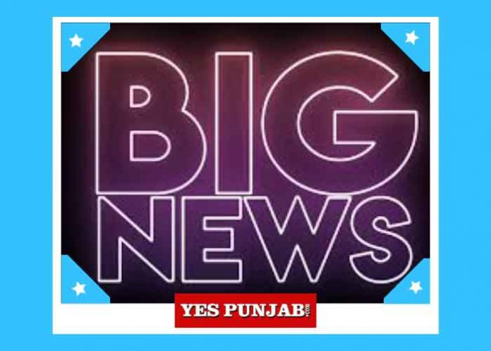 Big News Yes Punjab