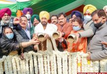 Channi virtually lays foundation stone Jallianwala Bagh
