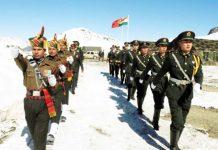 Chinese soldiers clash Naku La