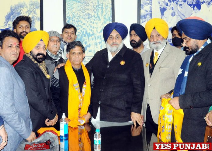 Congress MLA Ashok Sharma joins SAD