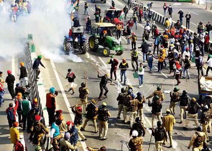 Delhi Tractor March Violence