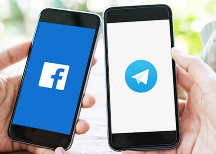Facebook Telegram Smartphone