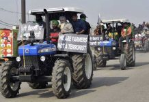 Farmers Tractor Protest
