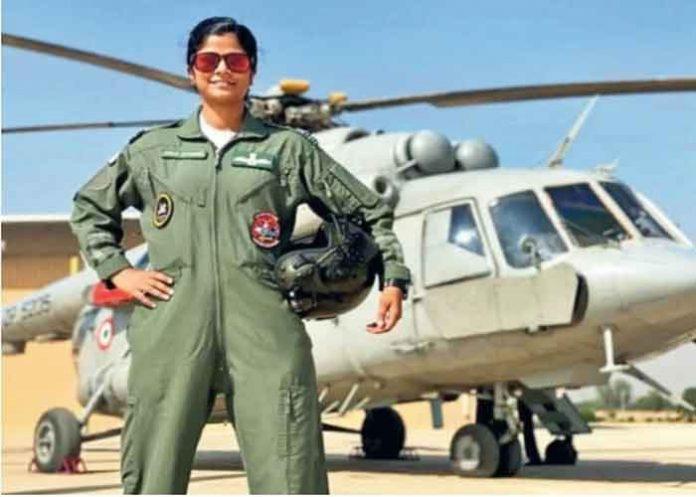 Flt Lt Swati Rathore