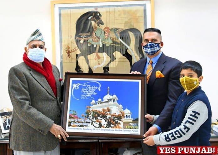 Guv launches Harpreet Sandhu documentary
