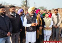 Harpal Cheema raid illegal mining sites Patiala