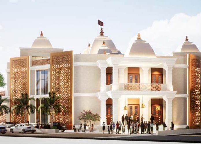 Hindu temple Dubai