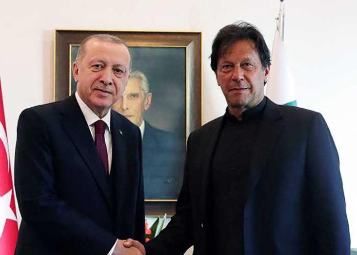 Imran Khan Recep Tayyip Erdogan