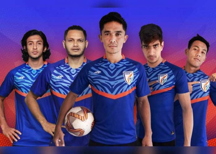 Indian football team new kit