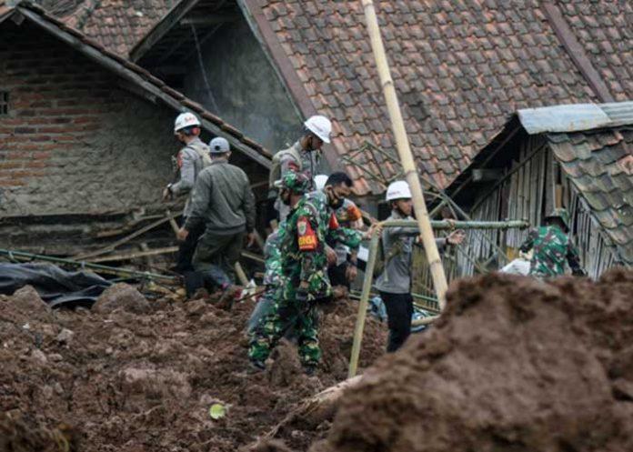 Indonesia West Java landslides