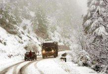 Jammu Sringar Highway Snowfall